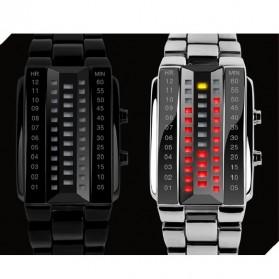 SKMEI Jam Tangan LED Pria - 1035A - White - 4