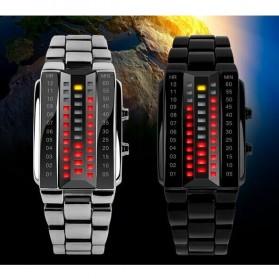 SKMEI Jam Tangan LED Pria - 1035A - White - 5