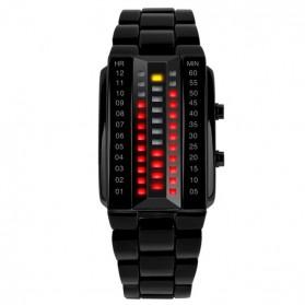 SKMEI Jam Tangan LED Wanita - 1013A - Black