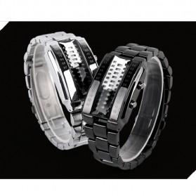 SKMEI Jam Tangan LED Wanita - 1013A - Black - 12