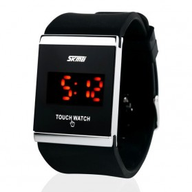 SKMEI Jam Tangan LED - 0983AT - Black
