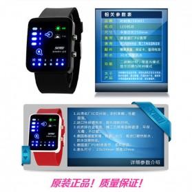SKMEI Jam Tangan LED - 0890C - Black - 2
