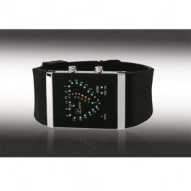 SKMEI Jam Tangan LED - 0952A - Black