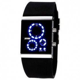SKMEI Jam Tangan LED - 0984 - Black