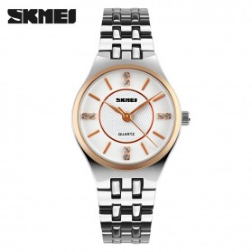 SKMEI Jam Tangan Analog Wanita - 1133CS - Rose Gold