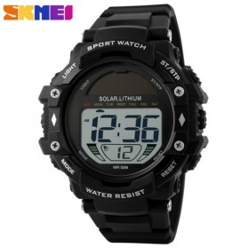 SKMEI Jam Tangan Digital Pria - DG1129 - Black - 2