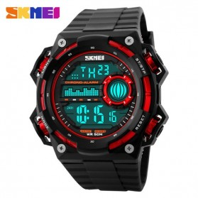 SKMEI Jam Tangan Digital Pria - DG1115 - Black/Red