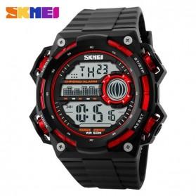 SKMEI Jam Tangan Digital Pria - DG1115 - Black/Red - 2