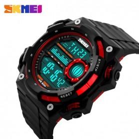 SKMEI Jam Tangan Digital Pria - DG1115 - Black/Red - 3