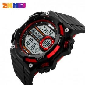 SKMEI Jam Tangan Digital Pria - DG1115 - Black/Red - 4