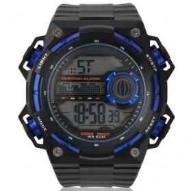 SKMEI Jam Tangan Digital Pria - DG1115 - Black/Blue