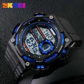 SKMEI Jam Tangan Digital Pria - DG1115 - Black/Blue - 4