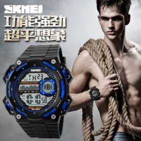 SKMEI Jam Tangan Digital Pria - DG1115 - Black/Blue - 5