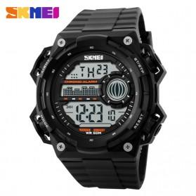 SKMEI Jam Tangan Digital Pria - DG1115 - Black/Black