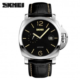 SKMEI Jam Tangan Analog Pria - 1124CL - Black/Yellow