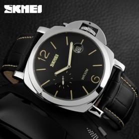 SKMEI Jam Tangan Analog Pria - 1124CL - Black/Yellow - 3