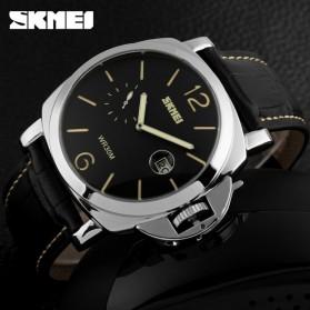 SKMEI Jam Tangan Analog Pria - 1124CL - Black/Yellow - 4