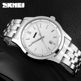 SKMEI Jam Tangan Analog Pria - 1125CS - Silver - 3