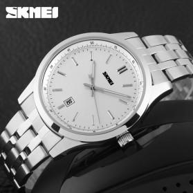 SKMEI Jam Tangan Analog Pria - 1125CS - Silver - 4