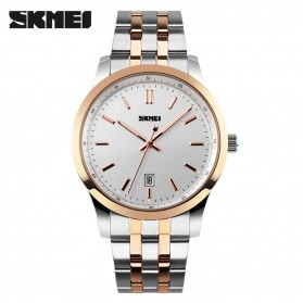 SKMEI Jam Tangan Analog Pria - 1125CS - Rose Gold