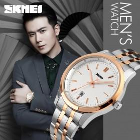SKMEI Jam Tangan Analog Pria - 1125CS - Rose Gold - 5
