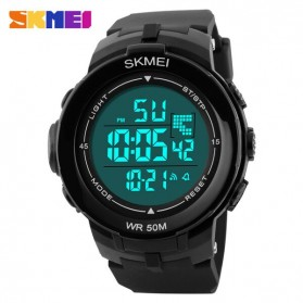 SKMEI Jam Tangan Digital Pria - DG1127 - Black White