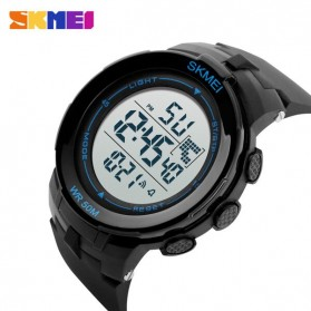 SKMEI Jam Tangan Digital Pria - DG1127 - Black Blue - 4