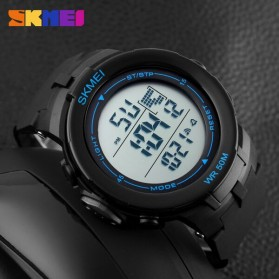 SKMEI Jam Tangan Digital Pria - DG1127 - Black Blue - 5