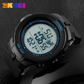 SKMEI Jam Tangan Digital Pria - DG1127 - Black Blue - 6