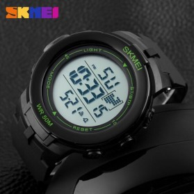 SKMEI Jam Tangan Digital Pria - DG1127 - Black/Green - 6