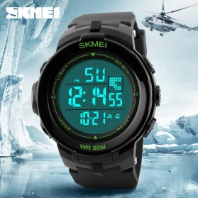 SKMEI Jam Tangan Digital Pria - DG1127 - Black/Green - 8