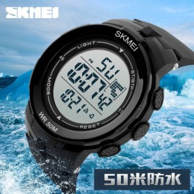 SKMEI Jam Tangan Digital Pria - DG1127 - Black/Green - 10
