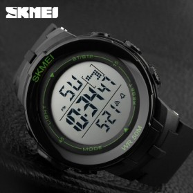SKMEI Jam Tangan Digital Pria - DG1127 - Black/Green - 11