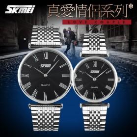 SKMEI Jam Tangan Analog Pria - 9105CS - Black - 5