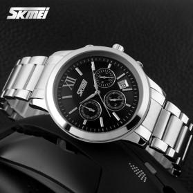 SKMEI Jam Tangan Analog Pria - 9097CS - Black - 3