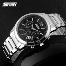 SKMEI Jam Tangan Analog Pria - 9097CS - Black - 4
