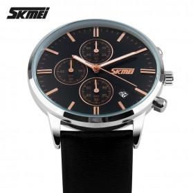SKMEI Jam Tangan Analog Pria - 9103CL - Black/Black - 3