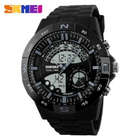 SKMEI Jam Tangan Analog Digital Pria - AD1110 - Black/Gray