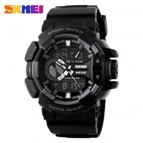 SKMEI Jam Tangan Digital Analog Pria - AD1117 - Gray