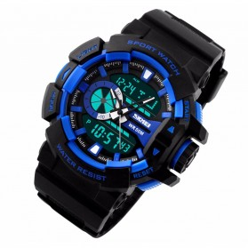 SKMEI Jam Tangan Digital Analog Pria - AD1117 - Blue
