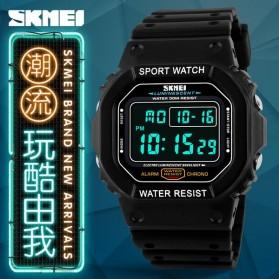 SKMEI Jam Tangan Digital Pria - DG1134 - Black White - 6
