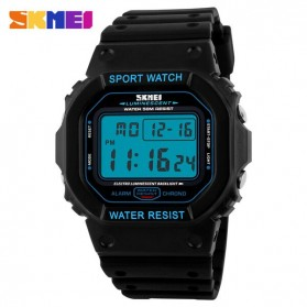 SKMEI Jam Tangan Digital Pria - DG1134 - Black Blue - 2