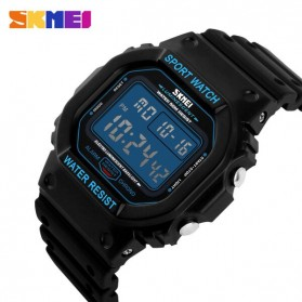 SKMEI Jam Tangan Digital Pria - DG1134 - Black Blue - 3