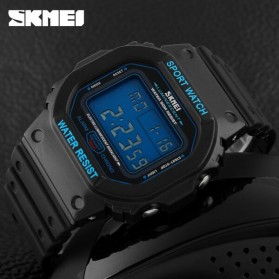 SKMEI Jam Tangan Digital Pria - DG1134 - Black Blue - 4