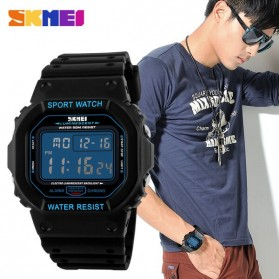SKMEI Jam Tangan Digital Pria - DG1134 - Black Blue - 6