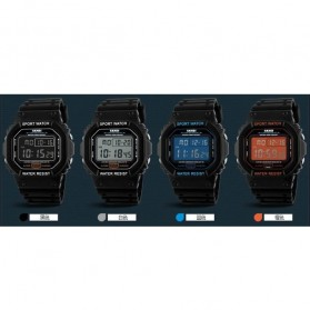 SKMEI Jam Tangan Digital Pria - DG1134 - Black Blue - 10