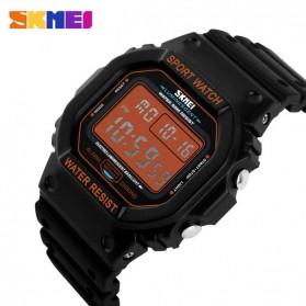 SKMEI Jam Tangan Digital Pria - DG1134 - Black/Orange - 3