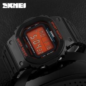 SKMEI Jam Tangan Digital Pria - DG1134 - Black/Orange - 4