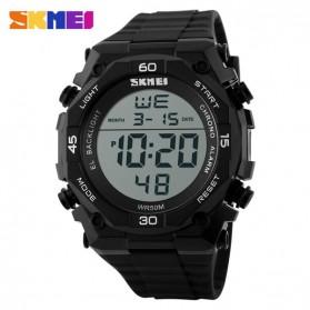 SKMEI Jam Tangan Digital Pria - DG1130 - Black White - 2