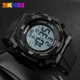 SKMEI Jam Tangan Digital Pria - DG1130 - Black White - 5